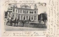 Kaštiel v Betliari na súdobej pohladnici z 90tych rokov 19. storocia (archív J. Barcziho)