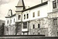 Východná fasáda kaštiela v 40tych rokoch 20. storocia, archív J. Barcziho